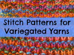 Multi-colored Yarns: Simpler Is Better
