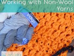 Lots of Non-Wool Yarn