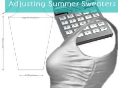 Adjusting Summer Sweaters