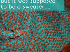 But It Was Supposed to Be a Sweater