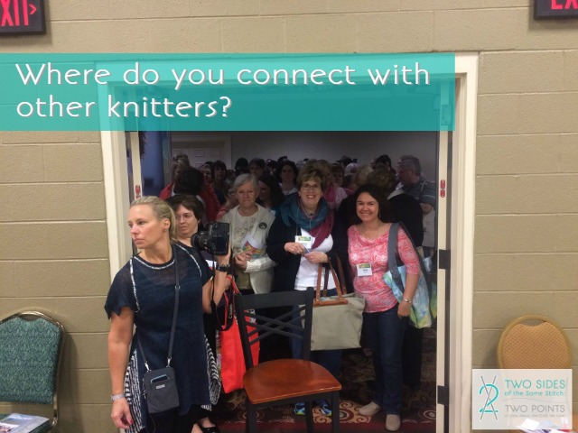 connections with knitters