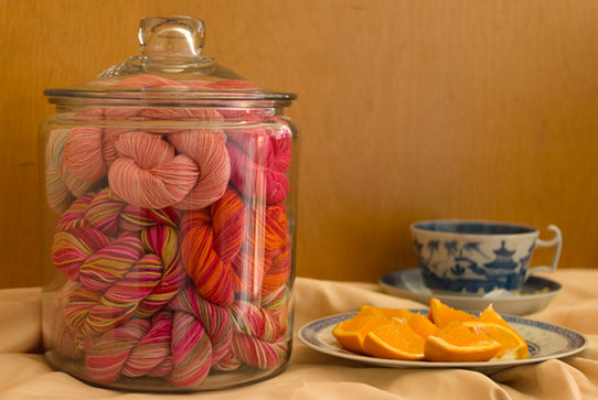 All About Claudia Hand Paint Yarns